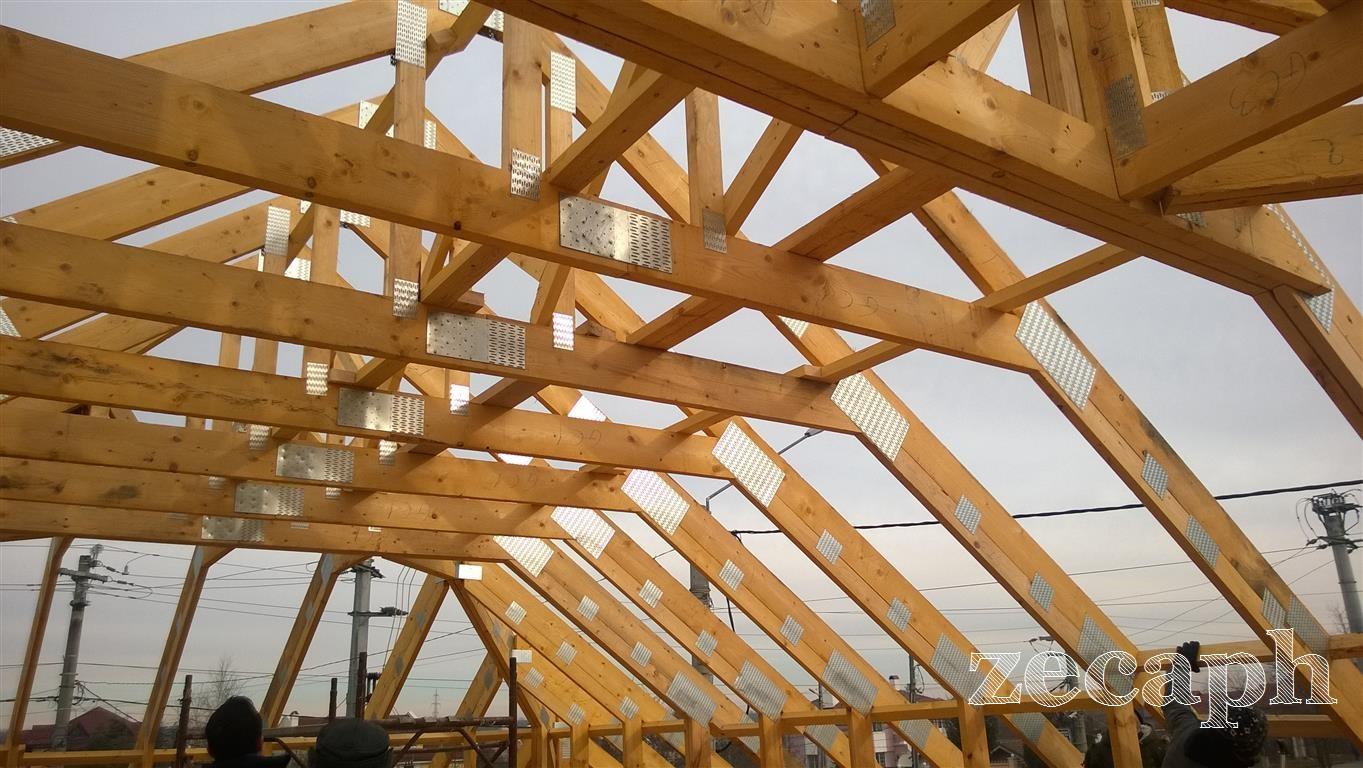 zecaph zero carbon passive house  timber frame structure (1)