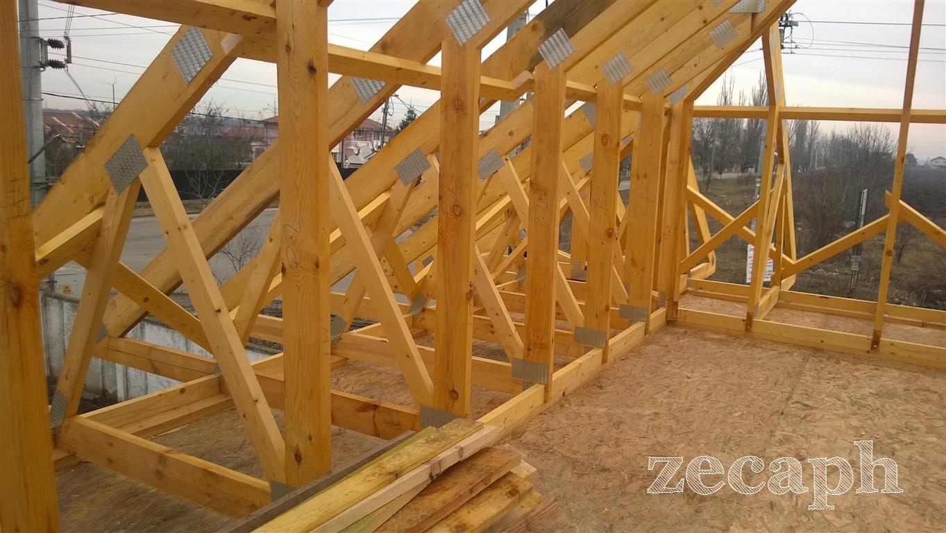 zecaph zero carbon passive house  timber frame structure (2)