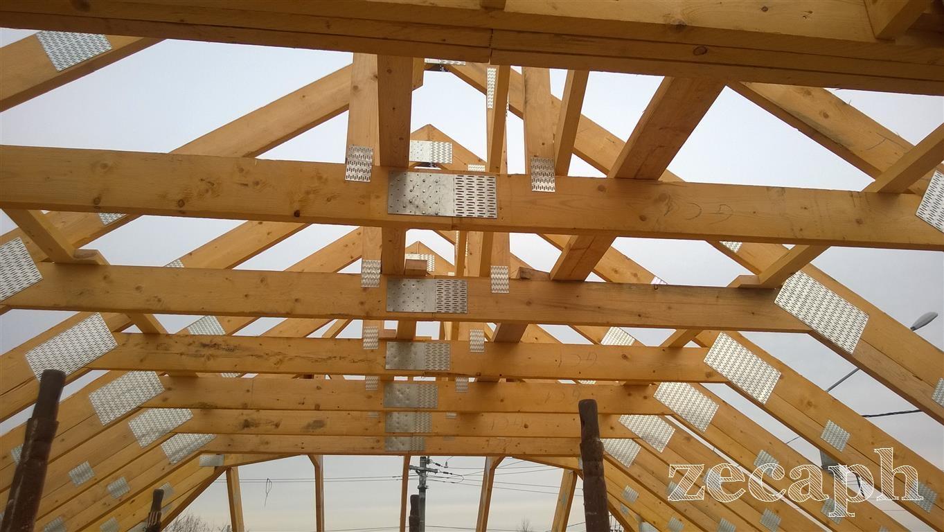 zecaph zero carbon passive house  timber frame structure (3)