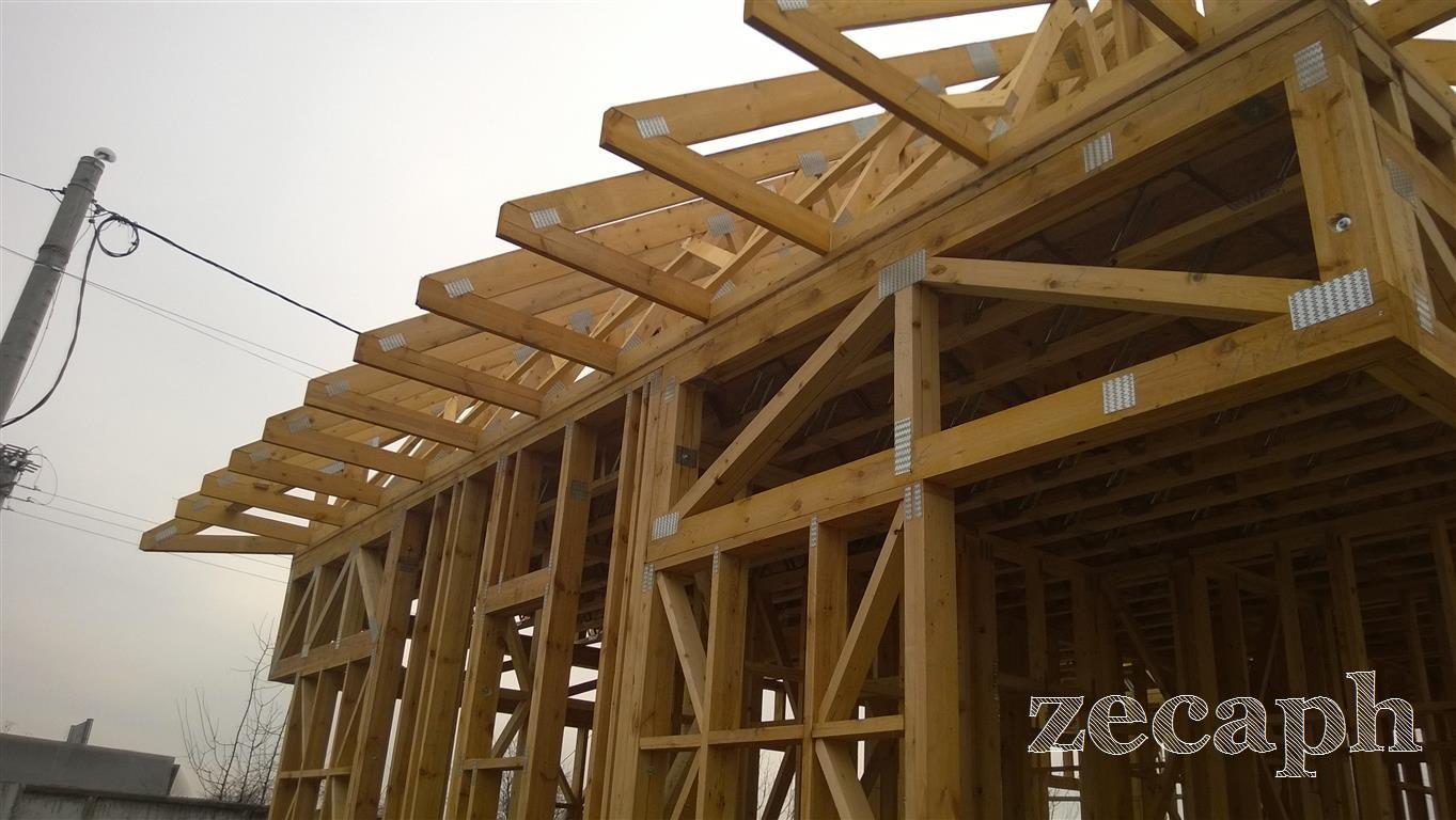 zecaph zero carbon passive house  timber frame structure (5)
